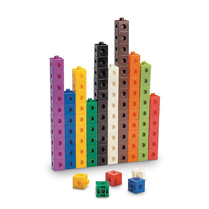 2 cm Snap Blocks, Set of 100