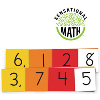 Sensational Math™ Place Value Cards - Small Group Student Set