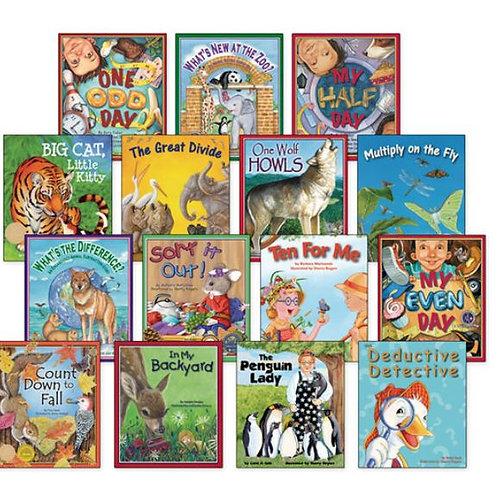 Math Concepts Book Set, Set of 15 books