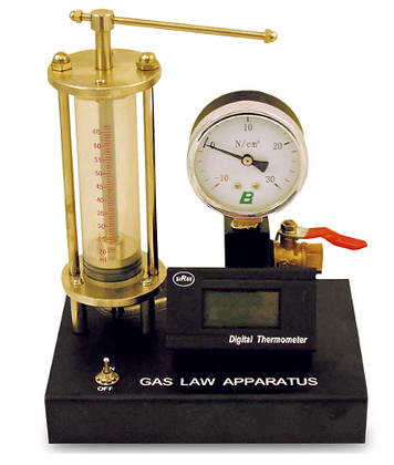 Gas Law Apparatus with Temp Gauge