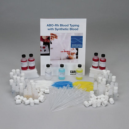 ABO-Rh Blood Typing with Synthetic Blood Value Kit