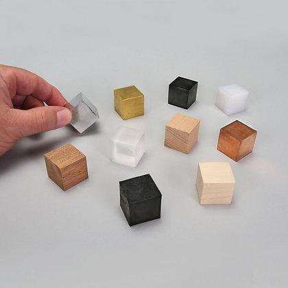 Density Cube Set - 10 materials
