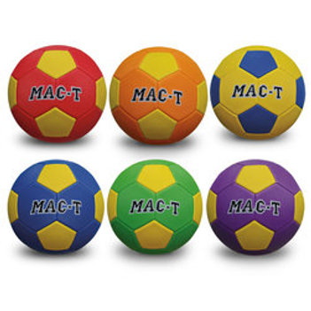 MAC-T® Soft Tek Soccer Ball Set - Size 4, Set of 6