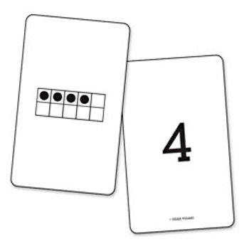 Ten Frames 1-50 Cards
