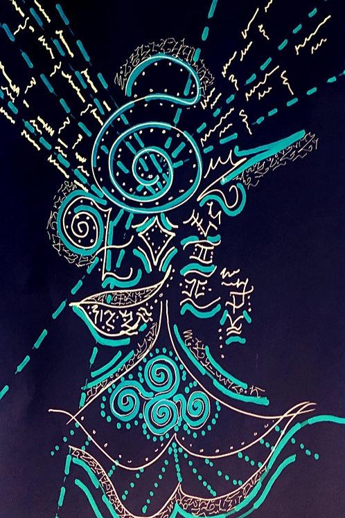 Aquamarine Glyph
