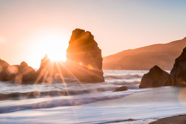 Golden particles of Love & Peace to the Waters - Gaia