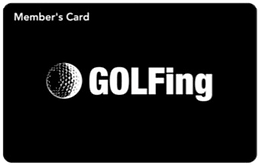 GOLFing会員カード