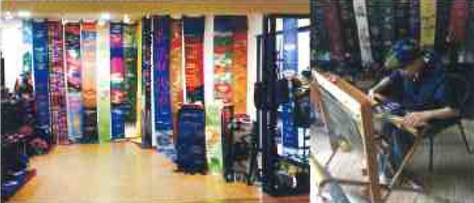 障がい福祉サービス事業所 手織りワークショップ