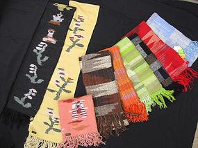 手織り作品展・販売会 大東市 生活介護