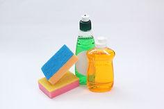 食器用洗剤、スポンジ