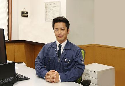 代表取締役 亀谷利信