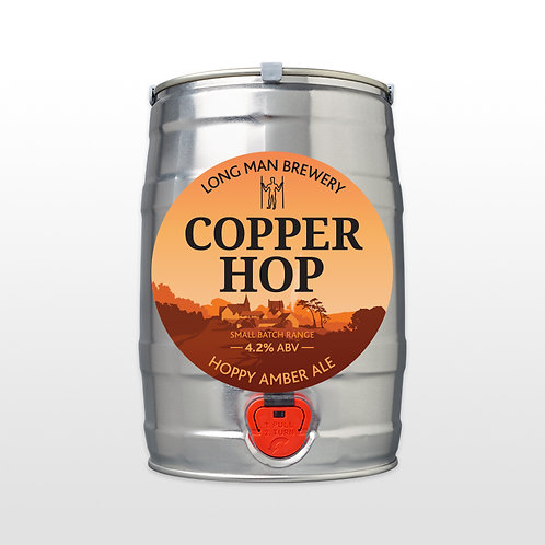 Long Man Copper Hop  Mini Keg
