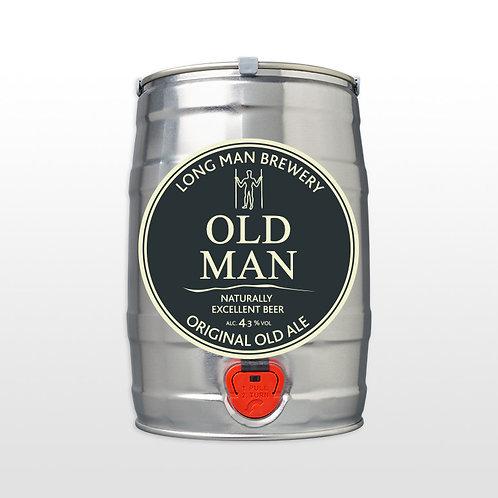 Long Man Old Ale - 8 pint Mini Keg