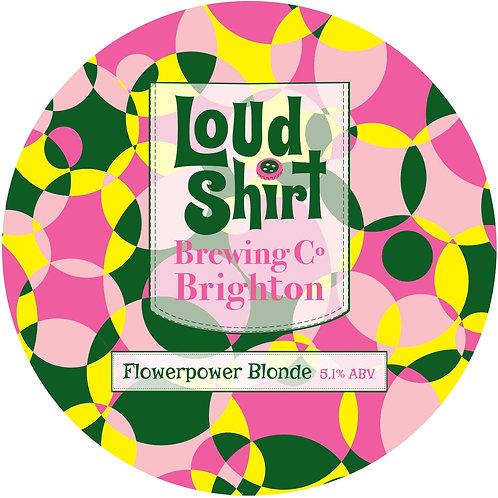 Loud Shirt Flowerpower Blonde