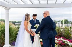 Cerimônia de casamento. Foto: David Gonçalves.