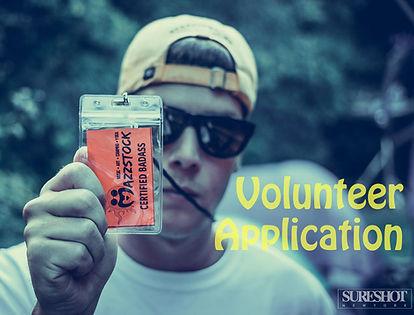 Mazzstock Volunteer Application