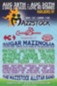 Mazzstock 2015 Lineup