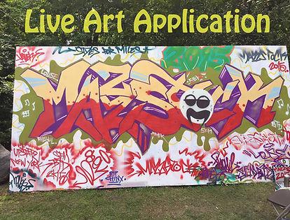 Mazzstock Live Art Application