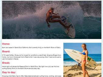 Odina Surf, Carly Wilson