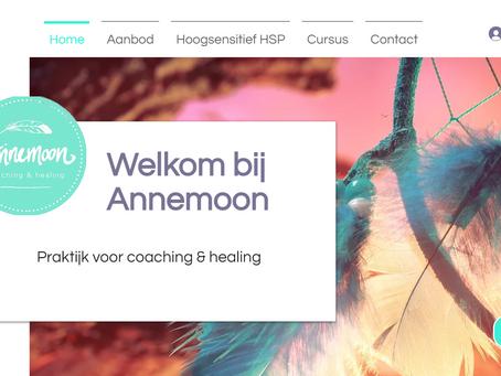 Website design praktijkannemoon.nl