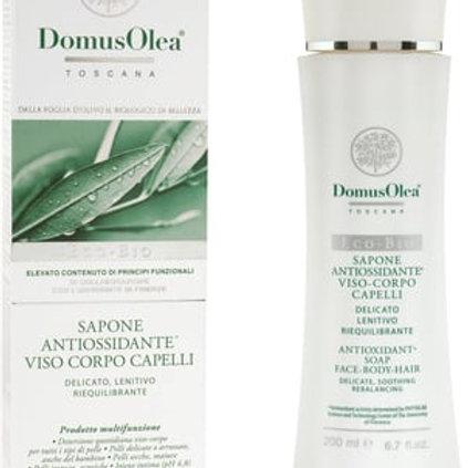 Domus Olea Toscana: Gezichts-, body- en haarzeep antioxidant/200ml