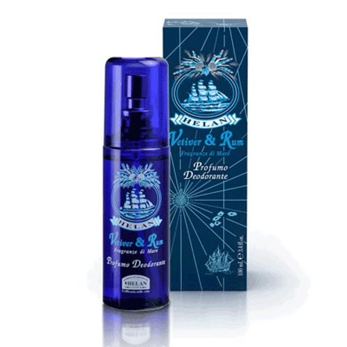 Helan: Vetiver & rum  deodorantspray/100 ml
