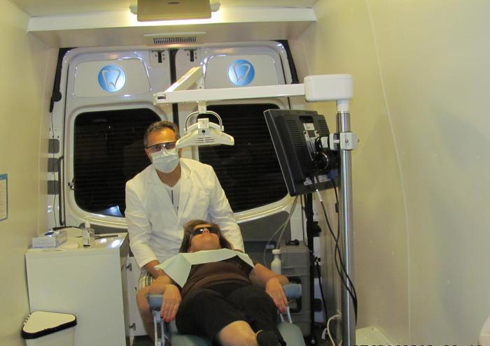 Inside Mobile Clinic