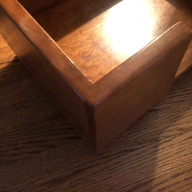 Dog bed rabbet joinery
