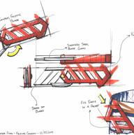 Folding box cutter