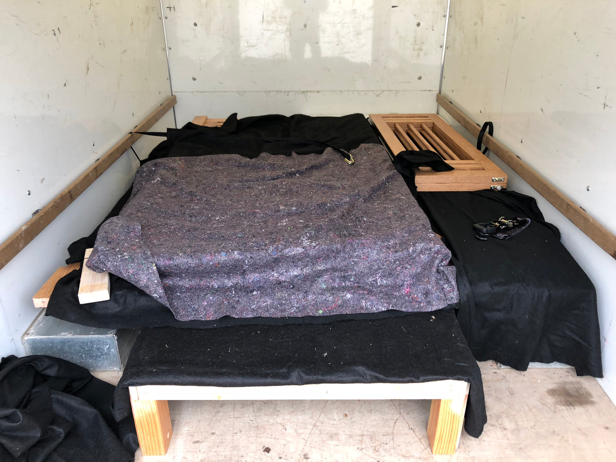 Packing for delivery