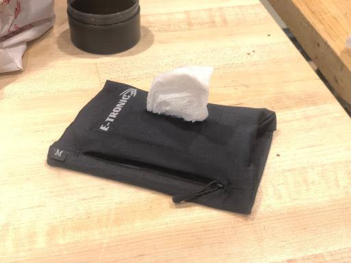 Attachable wipe dispenser concept
