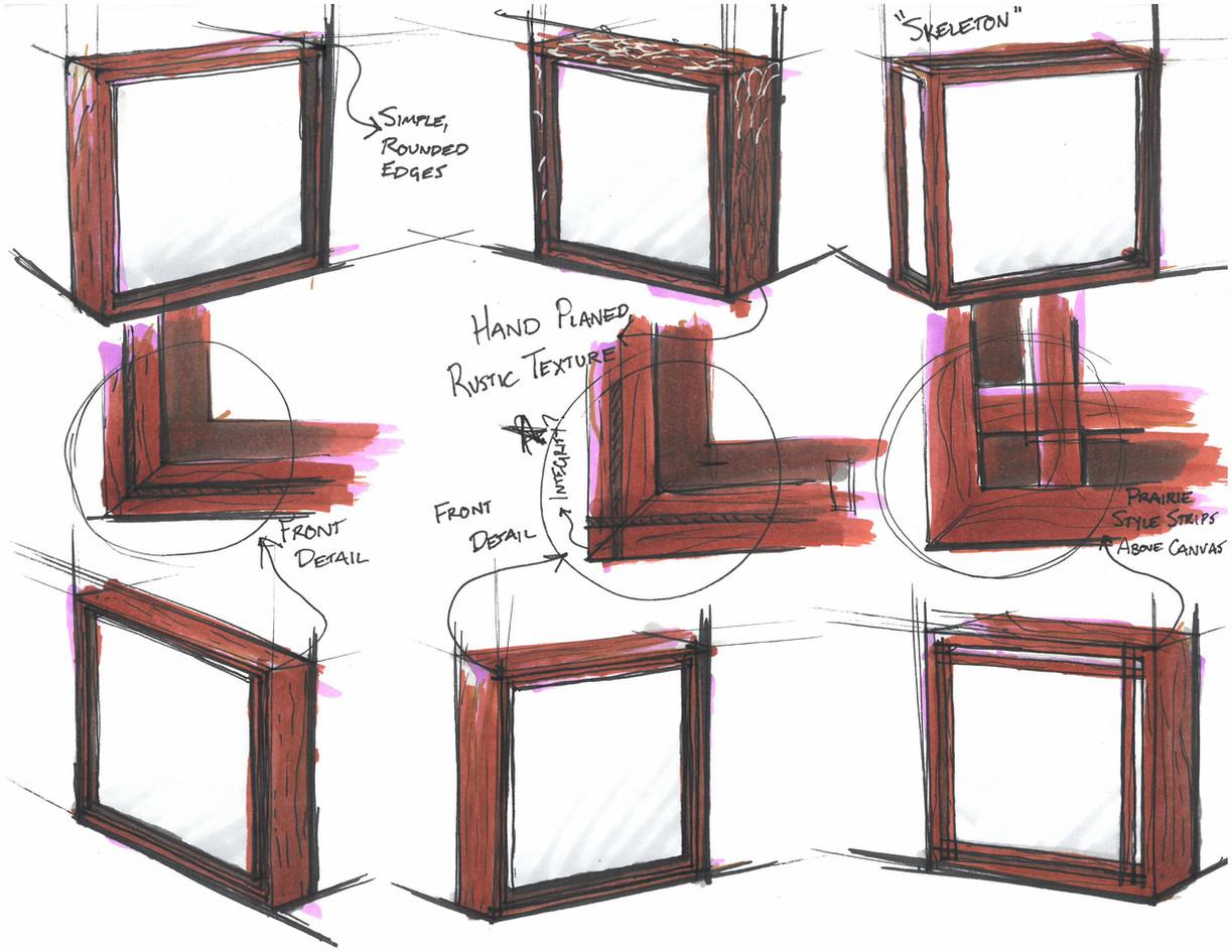 Brainstorming sketches