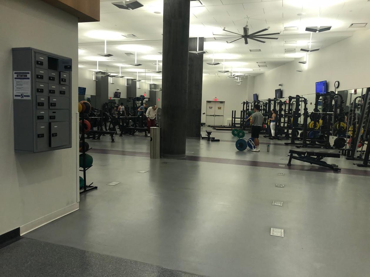 Gym observations