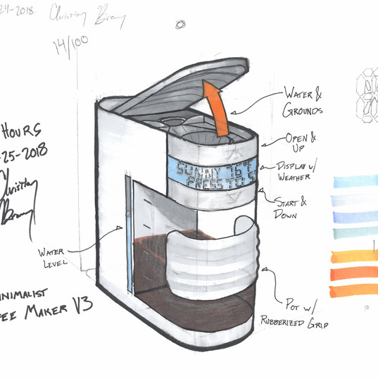 Coffee maker concept