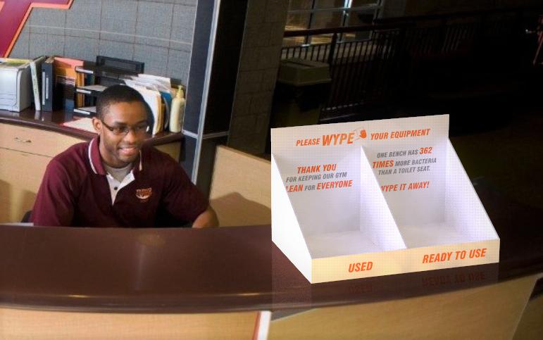 Wype display future concept