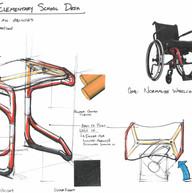 Accessible education desk