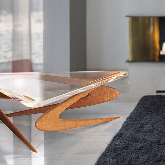Boomerang table