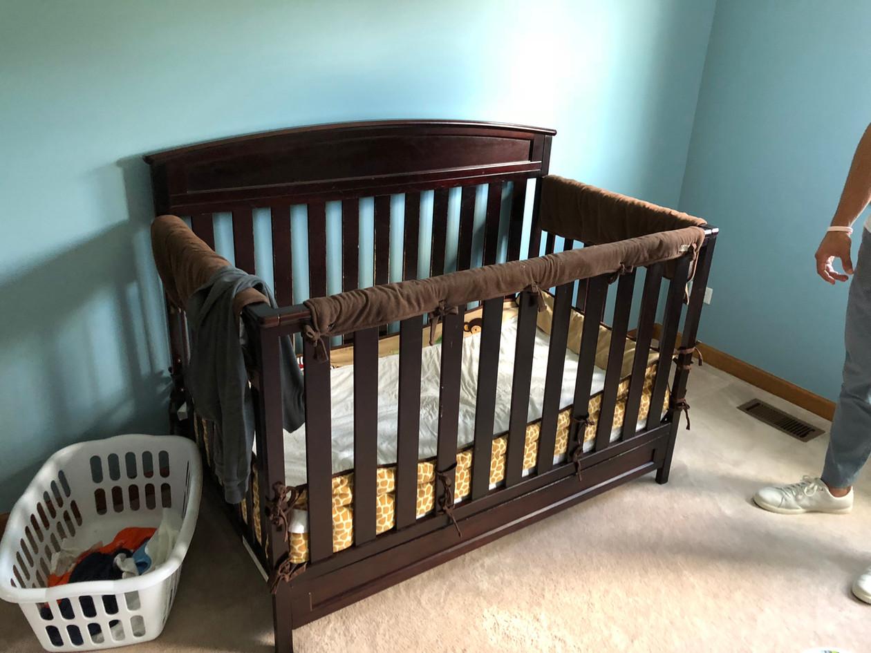 Danny's existing crib