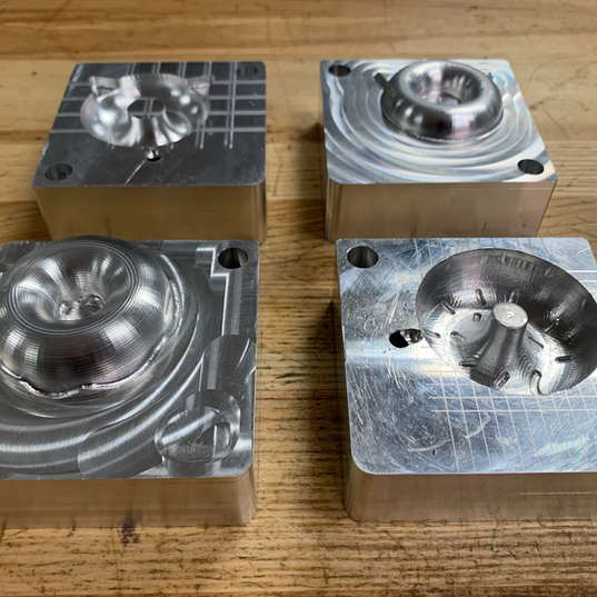 CNC machined injection molds