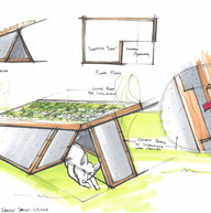 Flat-pack dog house