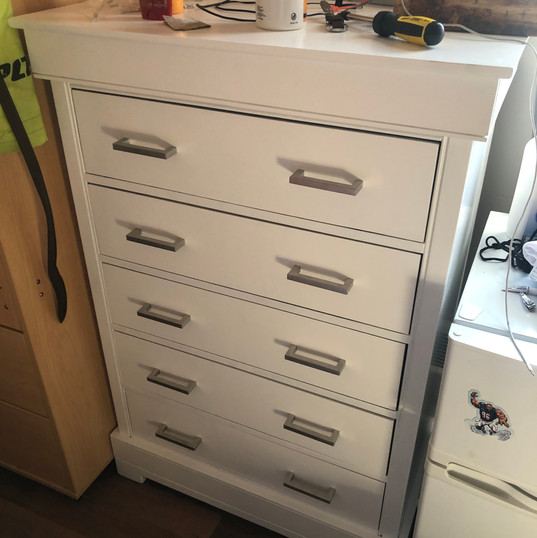 Dresser refurbishing