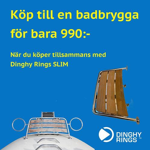 SLIM och badbrygga Queen Stage (ONLY SWEDEN)