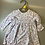 Thumbnail: NEW Mothercare baby girls grey floral strawberry long sleeve dress £1.30