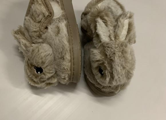 Boys girls carton Rabbit slippers Toddler Winter Warm Plush Shose £2.50