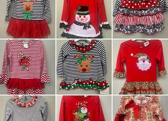 Chrismas Girls Dress 2/6 years £4.00