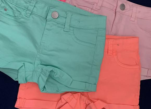 Girls summer shorts 4 colours £2