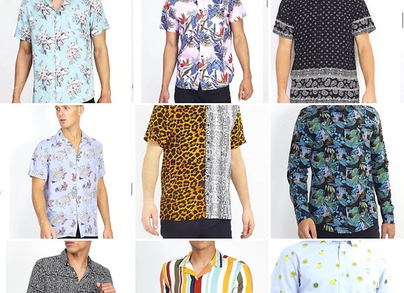 Men's summer shirts Uk Brans £5