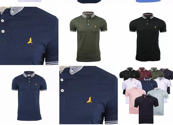 Men's short sleeve polo cotton t shorts Brave soul £5