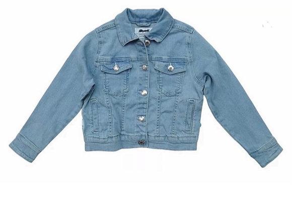 BNWT Girls Denim Jacket kids sequin summer soft Jean sparkle coat 3-15 Y £3.00