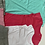 Thumbnail: Girls pj 2/12 years 2pcs top and short 100% cotton £2.00